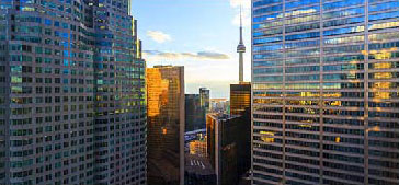 City of Toronto skyline